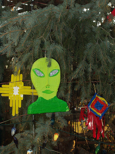 US Capitol Christmas Tree, Alien Decoration by TheRoss