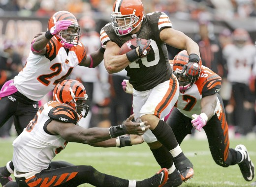 Hillis has been a huge disappointment this year for the Browns.