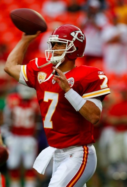 Matt Cassel has turned the Chiefs around after an 0-3 start.