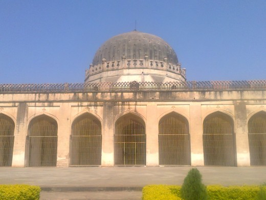 Mosque in Bidar fort.This was built by Aurangazeb