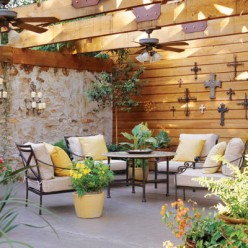 outdoor patio room