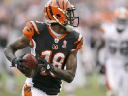 A.J Green is becoming a consistent option at receiver for Andy Dalton.