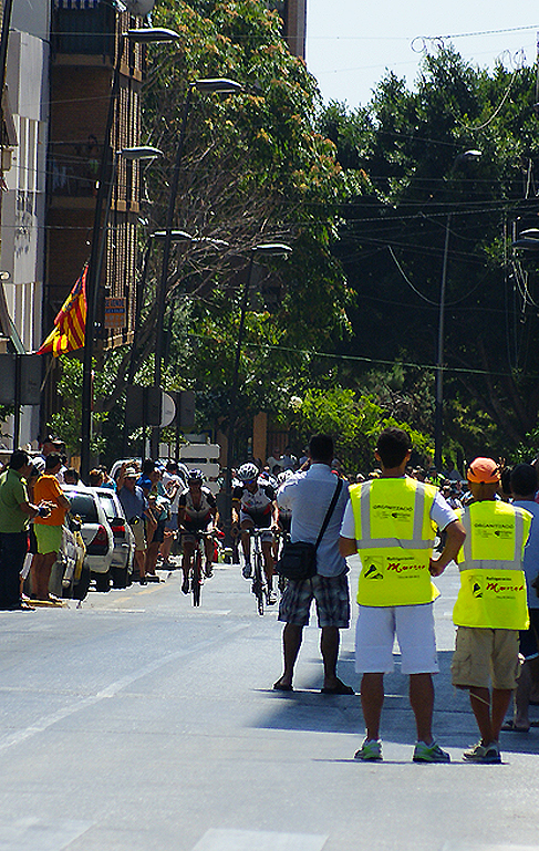 Local Cyclists come into view