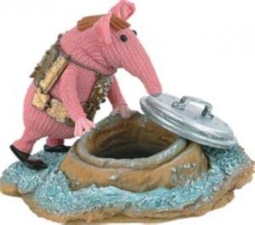 Small Clanger searches for the secrets of the cosmos.