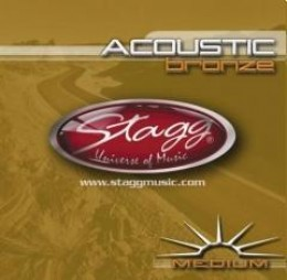 Stagg Medium Acoustic Bronze
