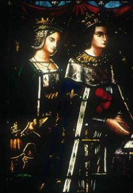 Louis of France and Blanche of Castille