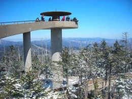 Clingman's Dome, Great Smoky Mountains.