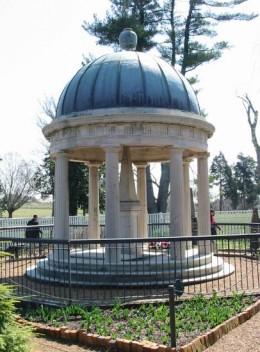 Andrew and Rachel Jackson Tomb. The Hermitage.