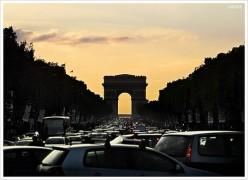 Traffic Jam: Paris Photo danobit via flickr
