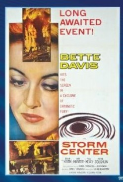 Mirrored Politics a film review of 'Storm Center' Starring Betty Davis (1956)