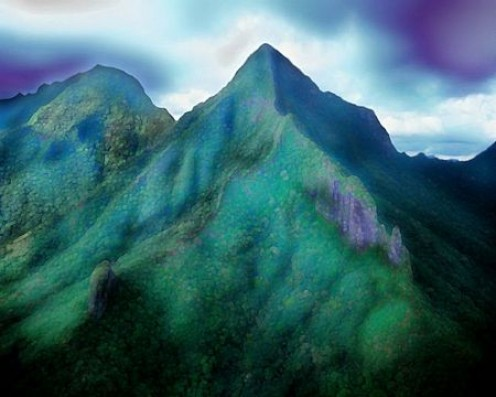 Ko'olau Mountains Copyright Ruth Kongaika