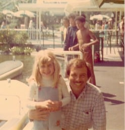 My Dad and I at Disneyland