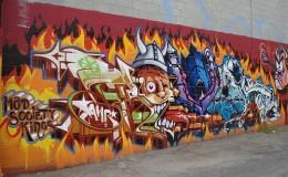 Graffiti that looks like art, amazing!