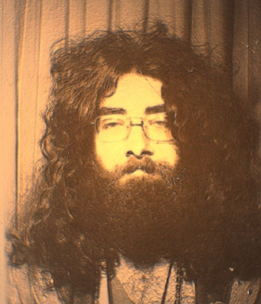 Steve Andrews/Bard of Ely in a 1972 photo