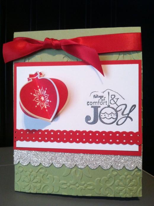 Christmas card, hand made