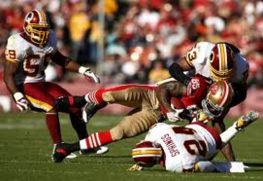 The 49ers have won 5 straight games going into the Redskins game and they are 3-0 on the road this season. Washington has lost 3 straight.