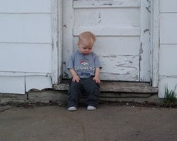 PeekABoo - Sitting, Thinking on a Step - and Other Poems About My Grandsons!