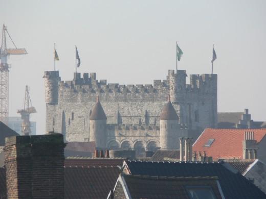 The Medieval, Gravensteen castle, Ghent, Belgium