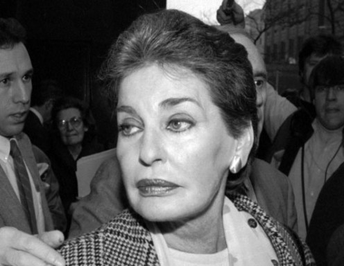 Businesswoman Leona Helmsley