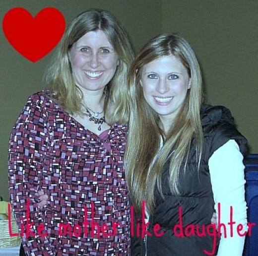 Who I am missing! My daughter Ally