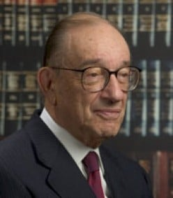 Alan Greenspan, longtime Fed chairman