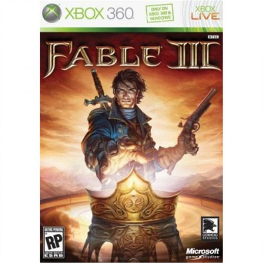 Fable 3 packaging