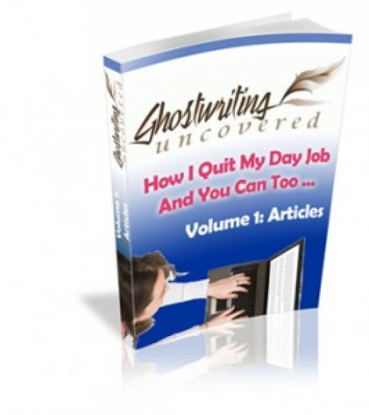 This book about Ghostwriting will answer all of your questions that you may have about working as a Ghostwriter.