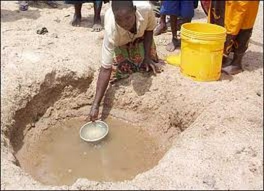 Water shortage in Africa