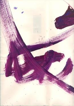 """Purple Pirate Princess Pennant"""