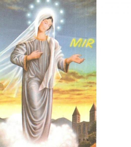 Mary in Medjugorje blesses St. James' parish