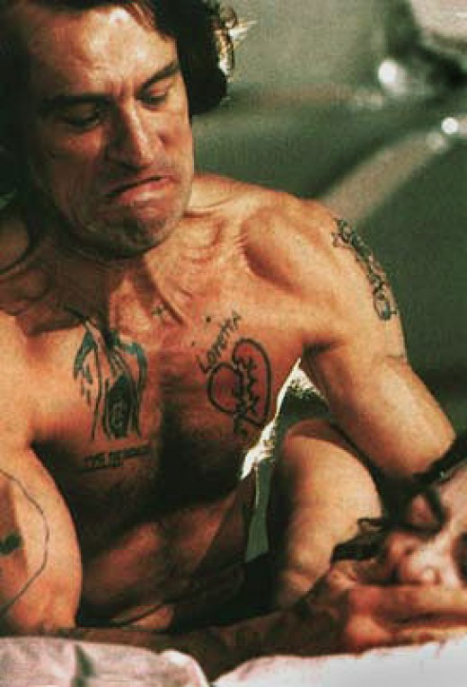 Max Cady played by Robert De Niro in the movie Cape Fear.
