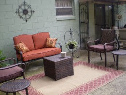 Creating an outdoor living space on a budget for Outdoor living spaces on a budget
