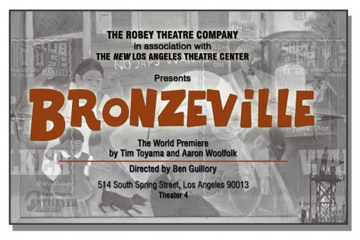 Flyer for world premier of the show.