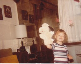 Childhood is about having fun. As a child I spent a lot of time over at my Aunt and Uncle's house. I have some great memories of being there. This is one of them.