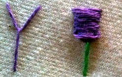 How to Make a Fly Stitch