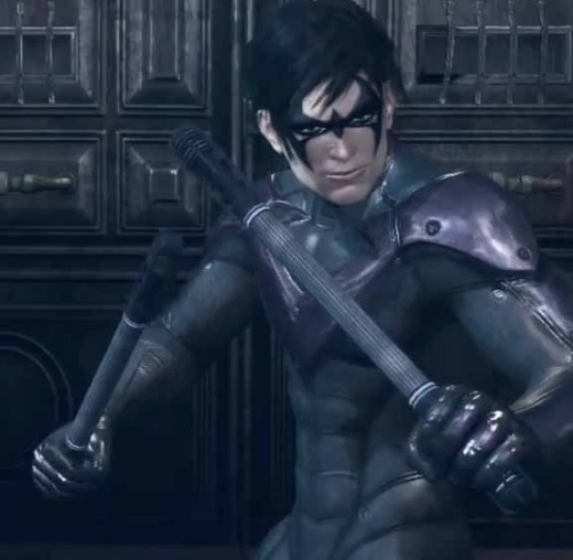 Batman Arkham City Playing as Nightwing