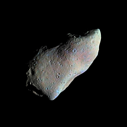 Asteroid Gaspra, mineralogy by Cornell SPIF