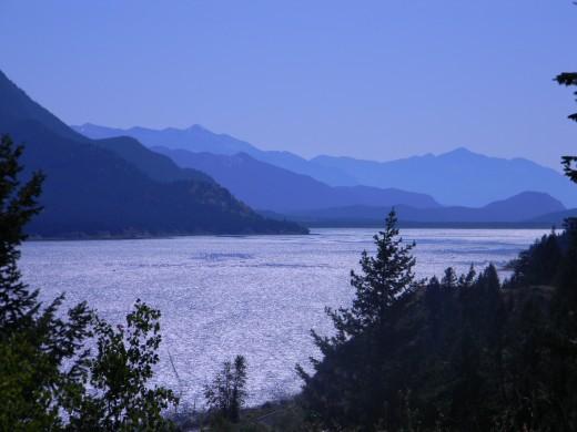 Columbia Lake,  British Columbia Source of the Columbia River in Oregon