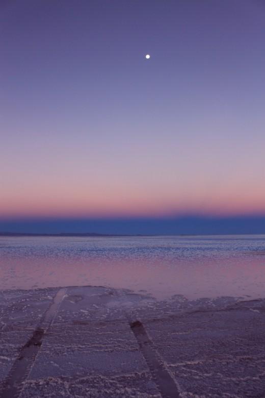 Salar Sunset - Boliva
