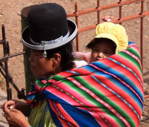 Interesting surroundings - Peru/Bolivian border crossing