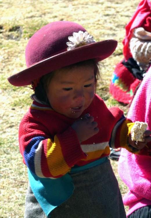Little Girl in Peru