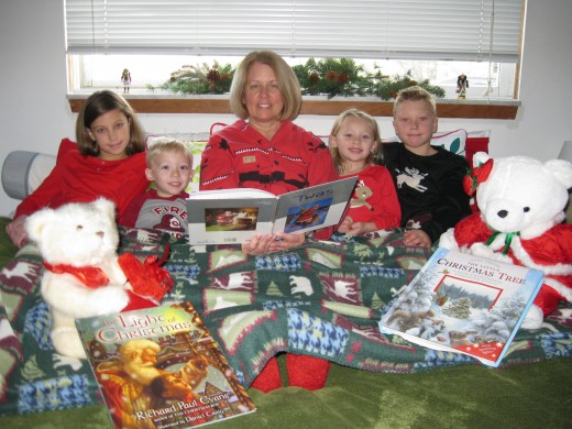 Books, Pajamas and T'was the Night Before Christmas!