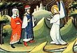 Samson' s parents meet the Angel of the Lord. An MASTER of otto van Moerdrecht