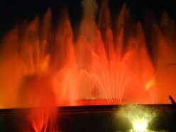 Barcelona, Spain - Magic Fountain of Montjuïc