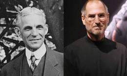 Two visionaries, both innovators, both with limitations.