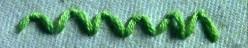 How to Make a Scallop Stitch