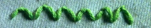 Hand Embroidery: Make a Scallop Stitch