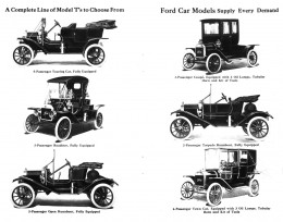 The Model T Line.