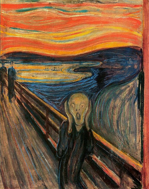 The Scream by Edward Munch