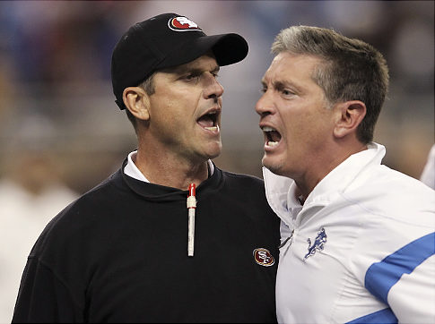 Harbaugh's fiery personality has helped put the Niners back on top